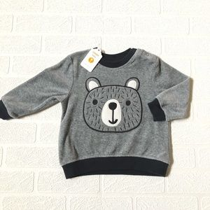 NWT Gymboree Velour Sweatshirt